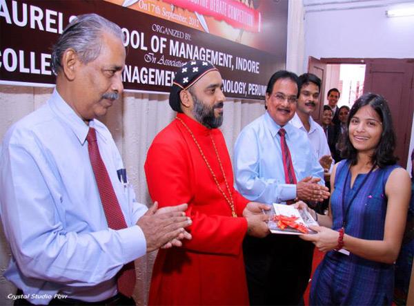 Best Speaker - Ms. Bhavia Shah from Chinmaya Vidyapeeth, Kochi.